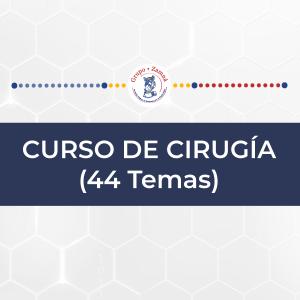 CURSO DE CIRUGÍA (44 Temas)