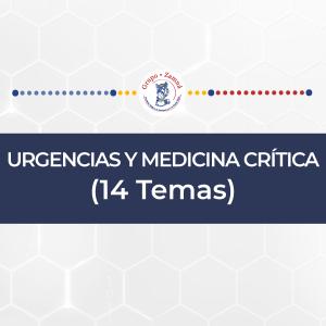 URGENCIAS Y MEDICINA CRÍTICA (14 Temas)
